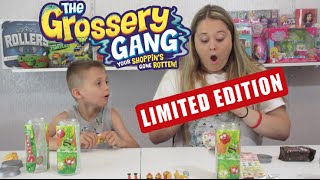 getlinkyoutube.com-Grossery Gang LIMITED EDITION! Surprise Blind Bags By Moose Toys