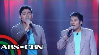 Tricycle driver and son pick Bamboo on 'Voice PH'