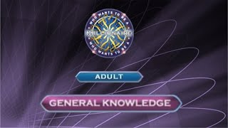 Who Wants To Be A Millionaire? DVD 4th Edition - Adult - General