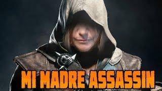 getlinkyoutube.com-MI MADRE ASSASSIN - Assassins Creed 4 Black Flag con mi Madre