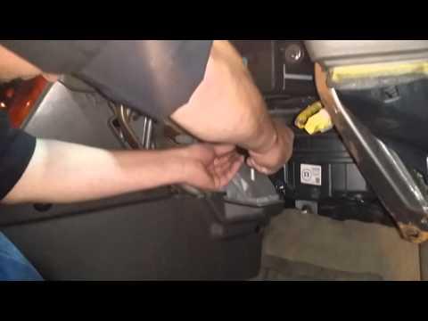 Простой ремонт отопителя LEXUS RX300