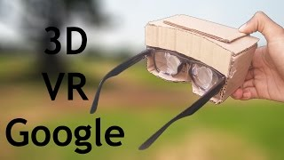 How To Make New 3D Googles VR Headset | Make With Glasses Easily