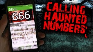 getlinkyoutube.com-CALLING HAUNTED PHONE NUMBERS! - WILL THE DEVIL PICK UP THE PHONE?