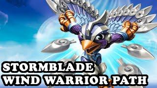 getlinkyoutube.com-Skylanders Superchargers - Stormblade - Wind Warrior Path - GAMEPLAY