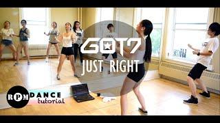 "getlinkyoutube.com-GOT7 ""Just Right"" Dance Tutorial (Pre-Chorus, Chorus)"