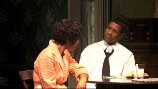 getlinkyoutube.com-Denzel Washington Interview 2014: Actor Takes Broadway by Storm in Raisin in the Sun