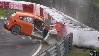 VLN 3 Lauf Highlights Action & Crashes
