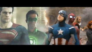 getlinkyoutube.com-Avengers v Justice League Trailer (FAN MADE)