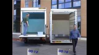 getlinkyoutube.com-Low Loading Luton Box Van dry freight compare times with tail lift