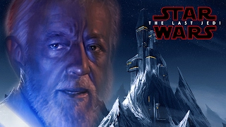 Star Wars Episode 8 The Last Jedi Darth Vader Castle & Obi Wan Kenobi's Lightsaber