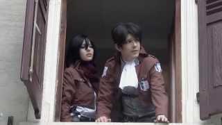 getlinkyoutube.com-Shingeki no Kyojin Cosplay - Die Mutprobe