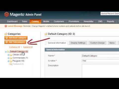 Magento how to add Products (Simple & Configurable), Categories & Attributes