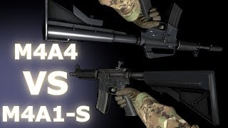 getlinkyoutube.com-CS:GO -  M4A4 VS M4A1-S