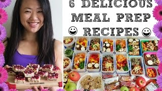 HEALTHY WEEKLY FOOD PREP - 15 MEALS AND SNACKS ♥ DELICIOUS CLEAN MEAL PREP IDEAS ♥