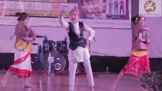 getlinkyoutube.com-DID Little Master Om Chettri Performing Nepali Dance at Gangtok Extravaganza - Sikkim