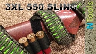 getlinkyoutube.com-DIY 3XL 550 Triple Cobra Weave Gun Sling Shotgun / Rifle How to Step by Step Instructions