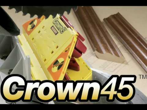 1405 Crown45 - Crown Molding Cutting Jig from Milescraft