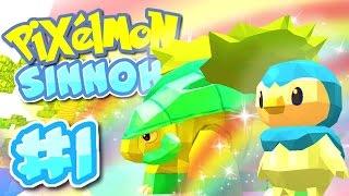 getlinkyoutube.com-Minecraft Pixelmon - RAINBOW POKEMON! (Pixelmon Sinnoh Server) #1