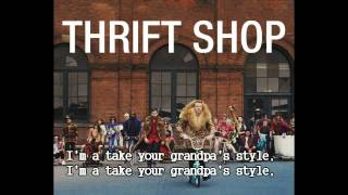 Thrift Shop  -Macklemore - Lyrics