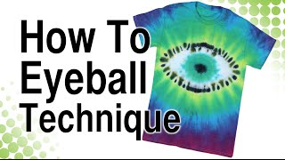 getlinkyoutube.com-How to Tie Dye Eyeball Technique