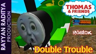 getlinkyoutube.com-Accidents Will Happen | DoubleTrouble Thomas and Friends Roblox Remake *reupload