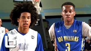 getlinkyoutube.com-Tyger Campbell vs Matt Coleman: Elite Young Point Guards Collide at EYBL!