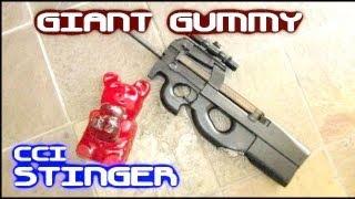 getlinkyoutube.com-GIANT Gummy Bear as Body Armor!  Will it work?  (pt 2)