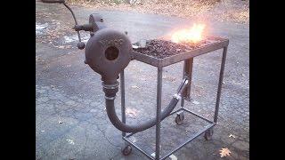 getlinkyoutube.com-Home Made Coal Forge