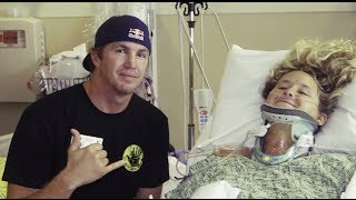getlinkyoutube.com-A surfer's optimism after tragic spinal cord injury - Brooke Thabit: A day in the life
