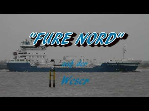 Click to view video FURE NORD - IMO 9271884 - Germany - Weser - Brake Unterweser