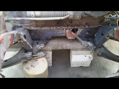 Кузовной ремонт. Ремонт днища. Опель Кадет+Lanos