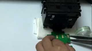 getlinkyoutube.com-Solution For HP 8100 HP 8600 ink cartridge depleted