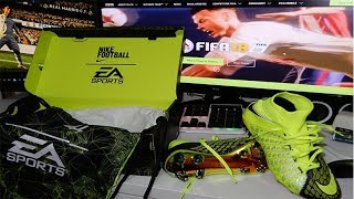 Unboxing Nike x EA Sports Hypervenom 3 Football Boots FIFA 18 Soccer Cleats