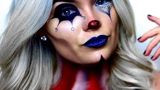 getlinkyoutube.com-AMERICAN HORROR STORY: FREAK SHOW | Circus Makeup Tutorial