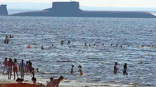 getlinkyoutube.com-MEGA SUB! World's BIGGEST SUBMARINE ever constructed! (Soviet Typhoon/Akula Class Submarine.)