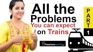 Aptitude Made Easy - Speed, Distance and Time - Problems on Trains Part-1, Math tricks