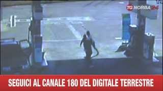 getlinkyoutube.com-RAPINATORI VIOLENTI BOTTE AL BENZINAIO AGGIORNAMENTO