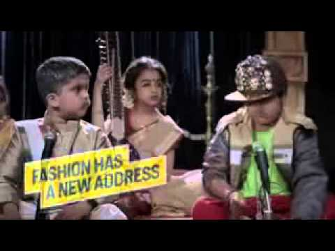 Flipkart New Kid Ad India 2013   Carnatic Music