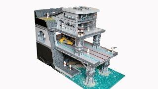 getlinkyoutube.com-Lego Star Wars Cliffside Base on Naboo