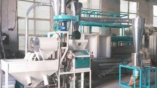 getlinkyoutube.com-grist mill,homemade flour mill,hand grain mill,home flour mill ,detailed working of flour mill