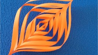 getlinkyoutube.com-DIY. Как из бумаги сделать ✽ Новогодний Фонарик 3D. Мастер класс.