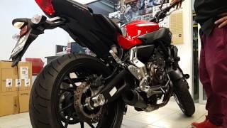 getlinkyoutube.com-Yamaha MT-07 with M4 Exhaust Sound