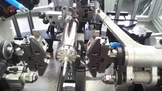 getlinkyoutube.com-Rotor winding machine/ Armature winding machine