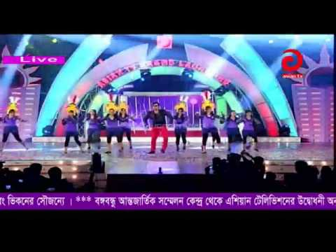 performance Asian Tv-Shakib Khan Apu Biswas 2013