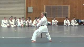 getlinkyoutube.com-Hayley Carr: Kata Shisochin and grading highlights