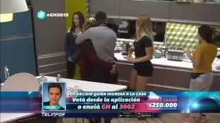 """getlinkyoutube.com-Romina """"Eloy no me mires el culo"""" (8:15) - Gran Hermano 2015"""
