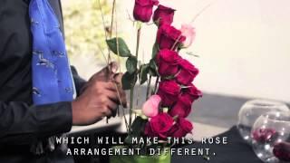 getlinkyoutube.com-Picando Flores Episodio 14 arreglo floral de 12 rosas por Eder Flores