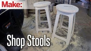 getlinkyoutube.com-DiResta: Shop Stools