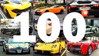 My TOP 100 supercar spots in London!