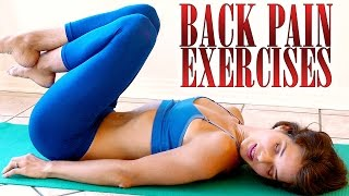 getlinkyoutube.com-Back Pain Relief Exercises & Stretches – How To Relieve Back Pain At Home